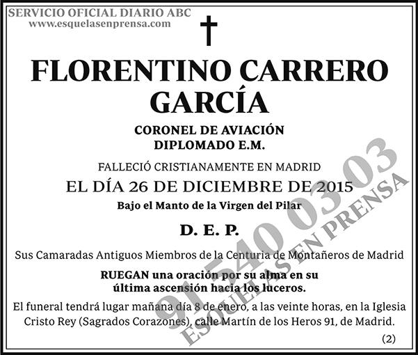 Florentino Carrero García